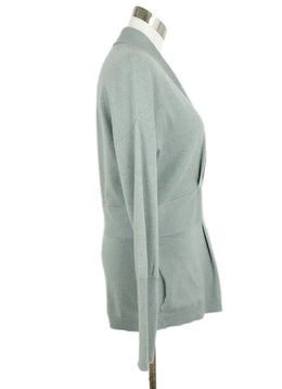 Brunello Cucinelli Mint Cashmere Sweater 2