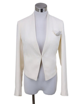 Brunello Cucinelli  Ivory Silk Jacket