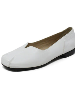 Bruno Magli White Leather Shoes
