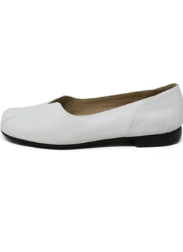 Bruno Magli White Leather Shoes 1