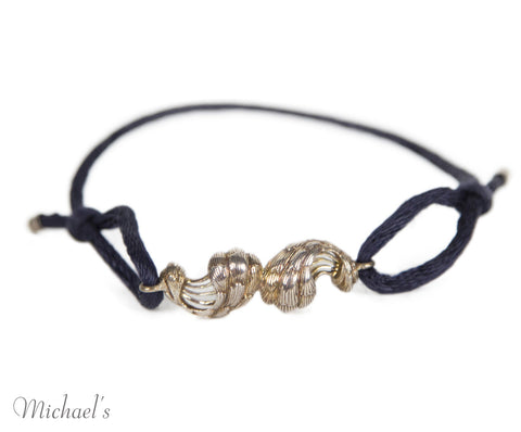 Buccellati Sterling Silver Cord Bracelet - Michael's Consignment NYC  - 1