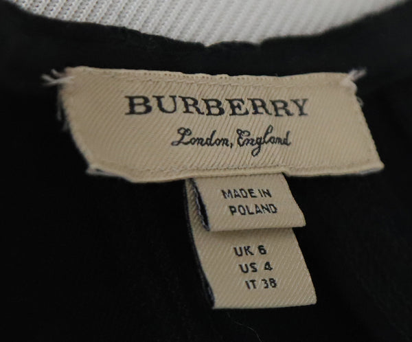 Burberry Black Dress with Belt 4