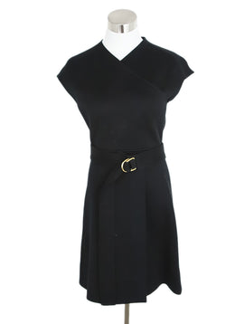 Burberry Black Dress with Belt 1