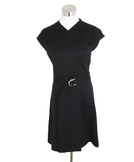 Michael Kors Black White Wool Dress Sz. 4