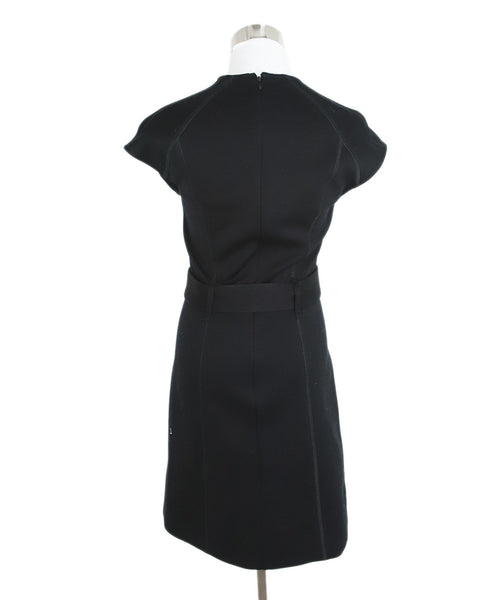 Burberry Black Dress with Belt 3