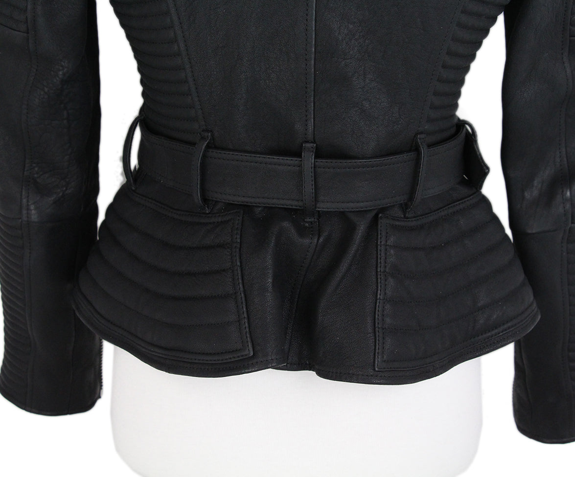 Burberry Black Leather jacket 4