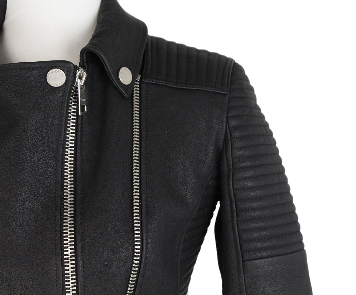 Burberry Black Leather jacket 6