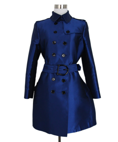 Burberry Blue Trench coat 1