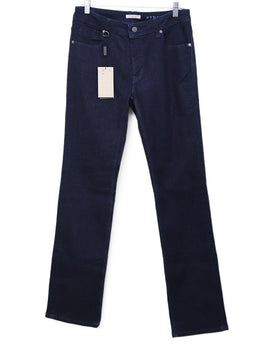 Burberry Brit Dark Blue Denim Pants Sz 10