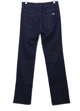 Burberry Brit Dark Blue Denim Pants 1