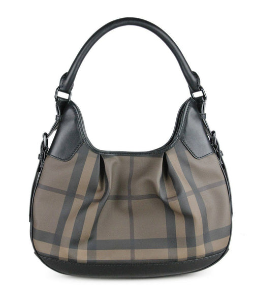 Burberry Brown Canvas Handbag