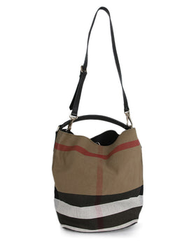 Burberry Canvas Handbag 1