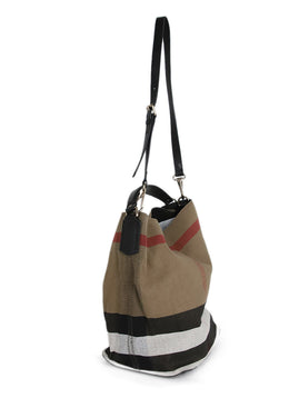 Burberry Canvas Handbag 2