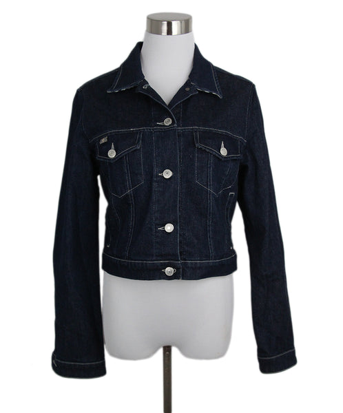 Burberry blue denim jacket 1