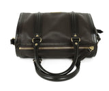 Burberry Brown Leather Satchel Handbag 5