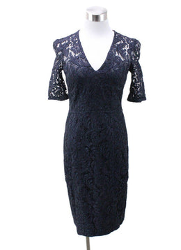 Burberry Navy Lace Dress