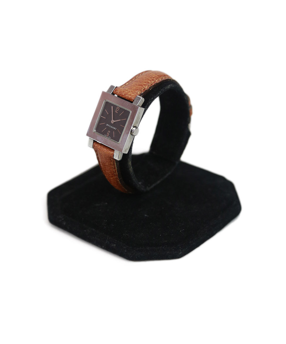 Bvlgari Camel Stainless Steel Watch