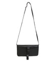 Calvin Klein Black Leather Clutch Crossbody 1