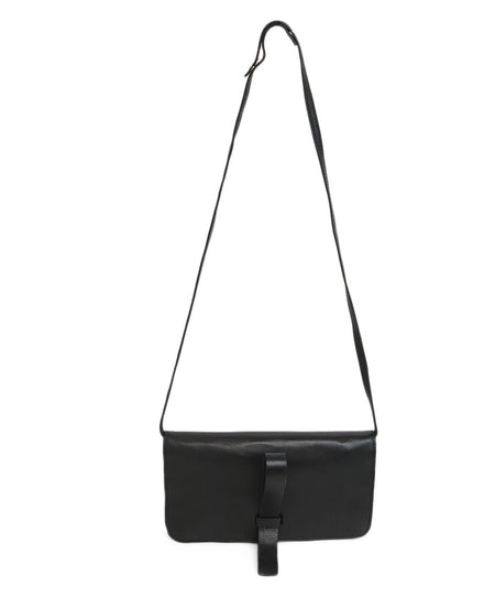 Valentino Black Leather Handbag with Gold Stud Detail and Removable Shoulder Strap