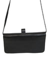 Calvin Klein Black Leather Clutch Crossbody 4