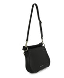 Calvin Klein Black Leather Satchel Handbag 2
