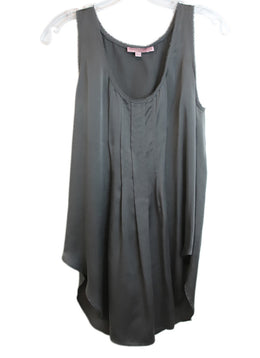 Calypso Grey Silk Top 1