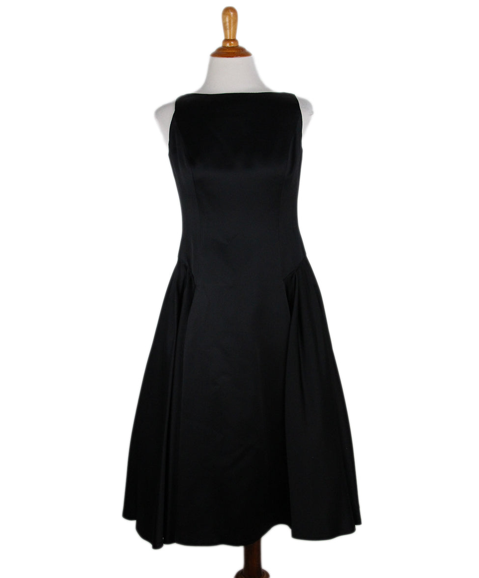 Carmen Marc Valvo Black Dress 1