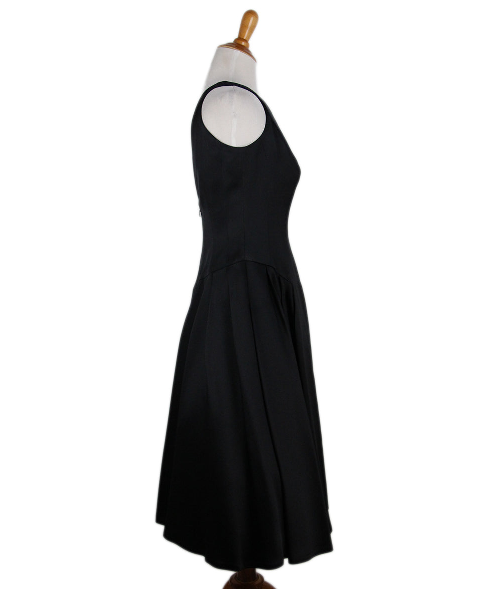 Carmen Marc Valvo Black Dress 2