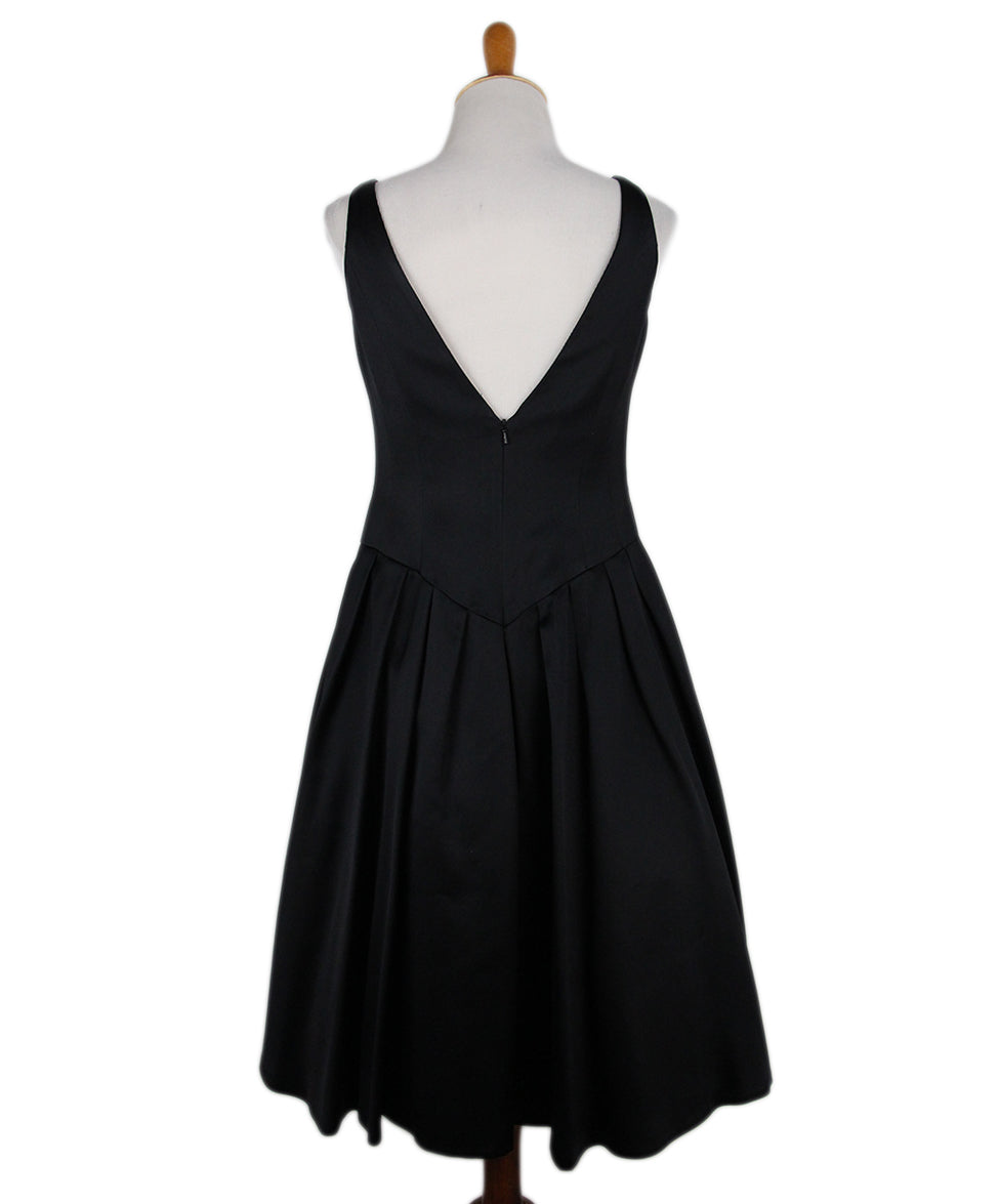 Carmen Marc Valvo Black Dress 3