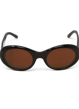 Cartier Brown Lucite Sunglasses 2