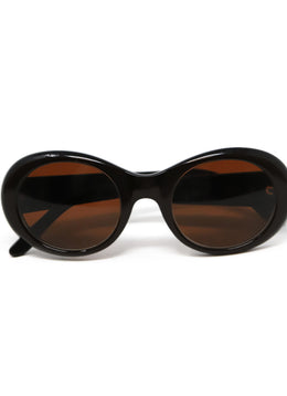 Cartier Brown Lucite Sunglasses 1