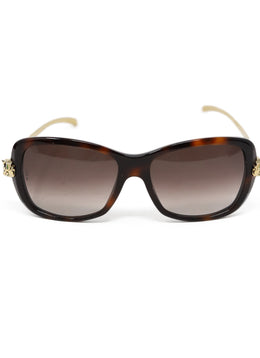 Cartier Brown Sunglasses