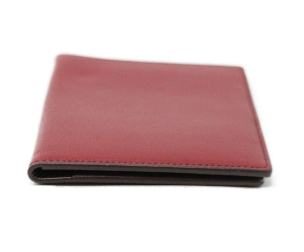 Wallet Cartier Red Taupe Leather W/Pouch Leather Goods