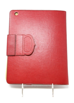 Cartier Red Leather Ipad Case 2