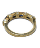 Cartier Yellow 18 K Gold Blue Sapphire Ring 5