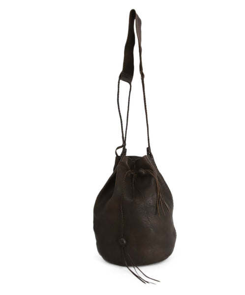 Carvana Deep Brown Leather Hobo Bag 1