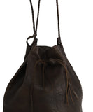 Carvana Deep Brown Leather Hobo Bag 6