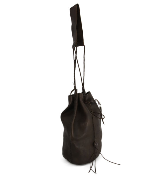 Carvana Deep Brown Leather Hobo Bag 2