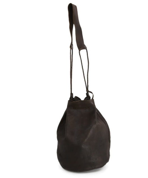 Carvana Deep Brown Leather Hobo Bag 3