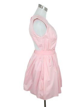 Carven Pink Cotton Dress 2