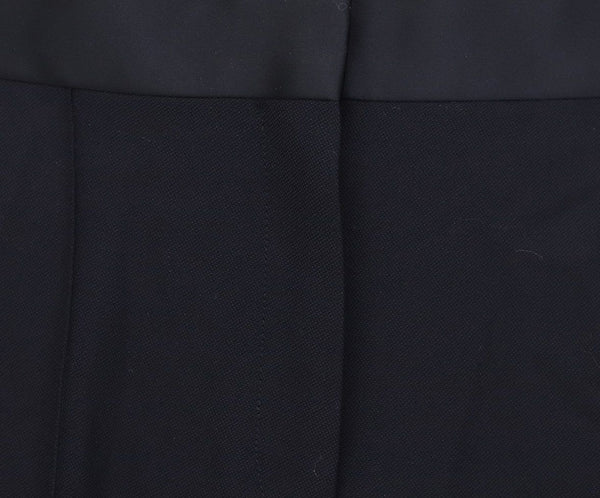 Celine Black Cotton Satin Pants 3