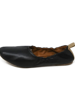 Celine Black Leather Flats 2