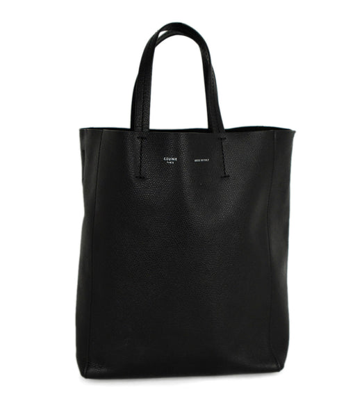 Celine Black Leather Shoulder Bag 1