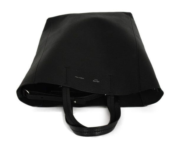 Celine Black Leather Shoulder Bag 5