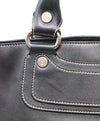 Celine Black Leather Shoulder Bag 9