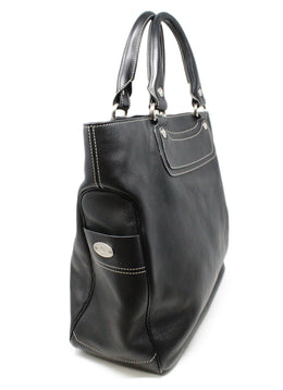 Celine Black Leather Shoulder Bag 2