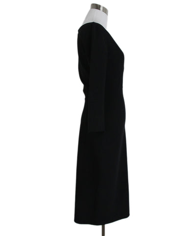 Celine Black Wool Dress 1