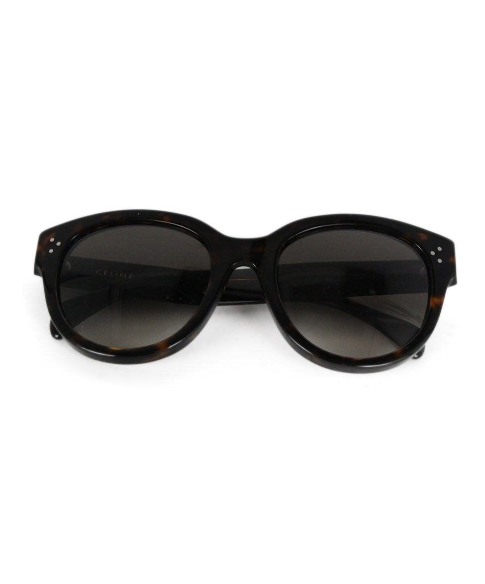 Celine Brown plastic sunglasses 1