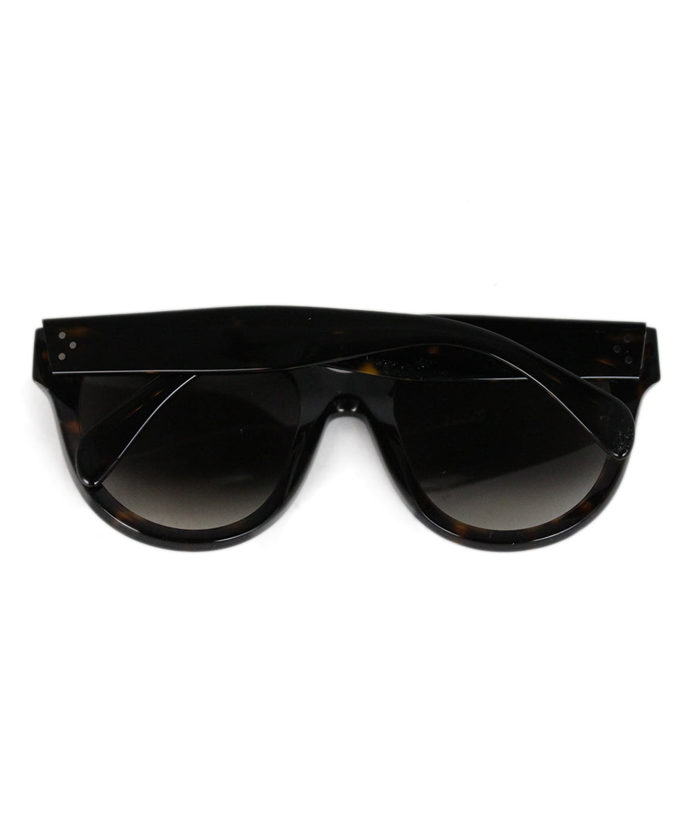 Celine Brown plastic sunglasses 5