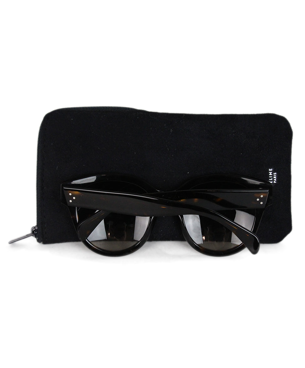 Celine Brown plastic sunglasses 6